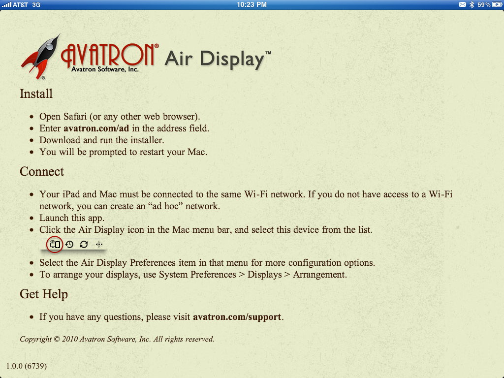 Air Display for iPad