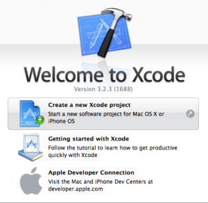 Xcode - Create new project