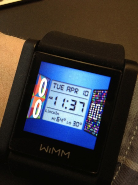 Wimm one watchfaces